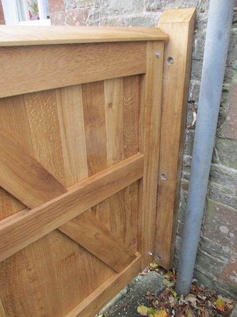 Edinburgh Decking Bespoke Garden Decking: Timber Dressed Garden Gates In The Scottish Borders